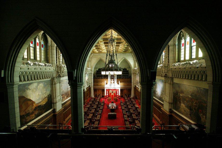 La Chambre rouge du Sénat, à Ottawa.... (Photo: Reuters)