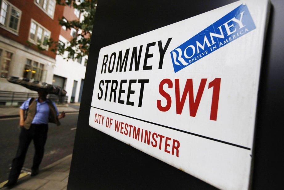 Mitt Romney peut se targuer d'avoir une rue à son... | 2012-07-30 00:00:00.000