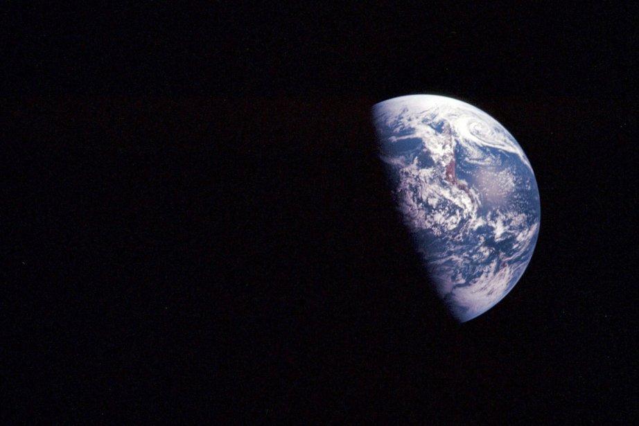 La planète Terre, vue de l'espace.... (PHOTO NASA/AP)