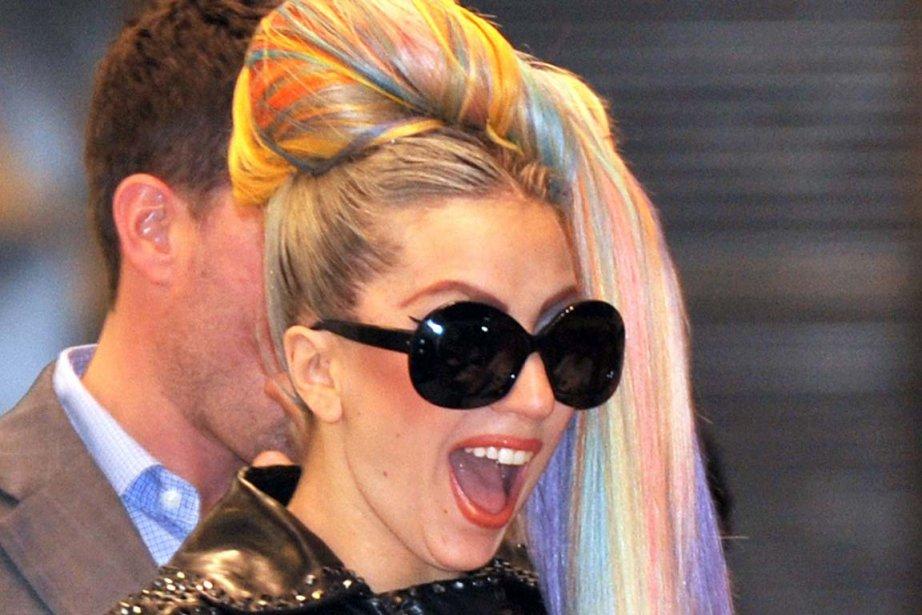 Lady Gaga... (Photo Kazuhiro Nogi, AFP)