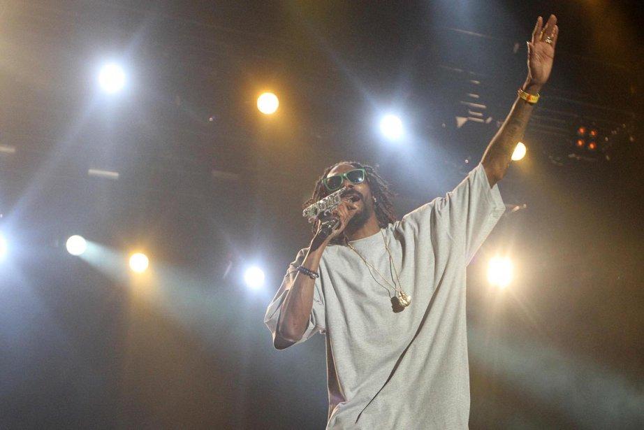 Snoop Dogg (au Ottawa Bluesfest).... (Photo Patrick Doyle, PC)
