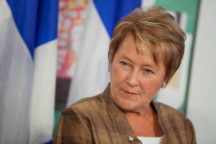 La chef du PQ, Pauline Marois.... (Photo: Édouard Plante-Fréchette, La Presse)