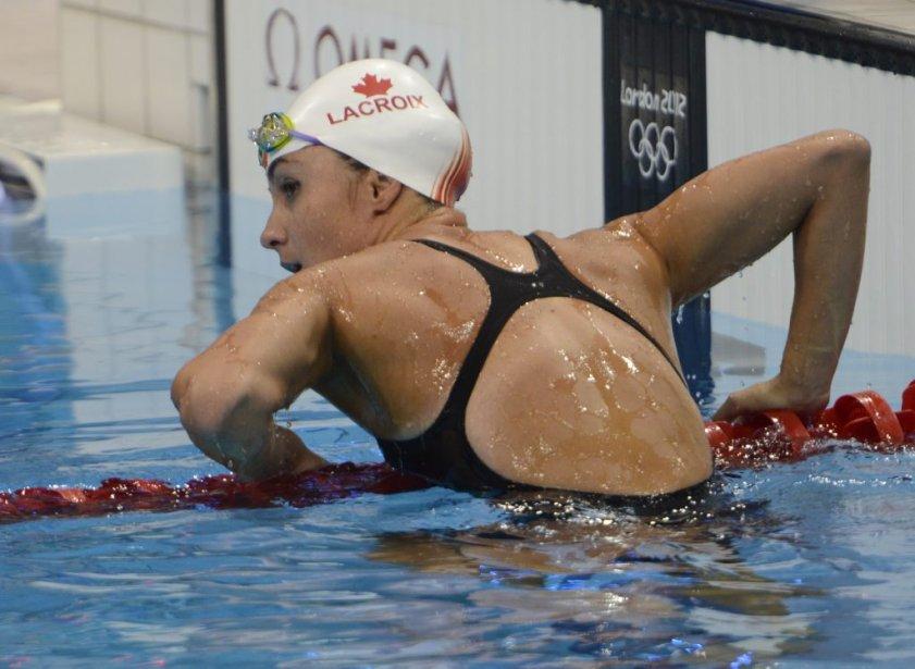La Québécoise Audrey Lacroix n'a pas réussi à se qualifier pour la finale du 200 mètres papillon. | 31 juillet 2012