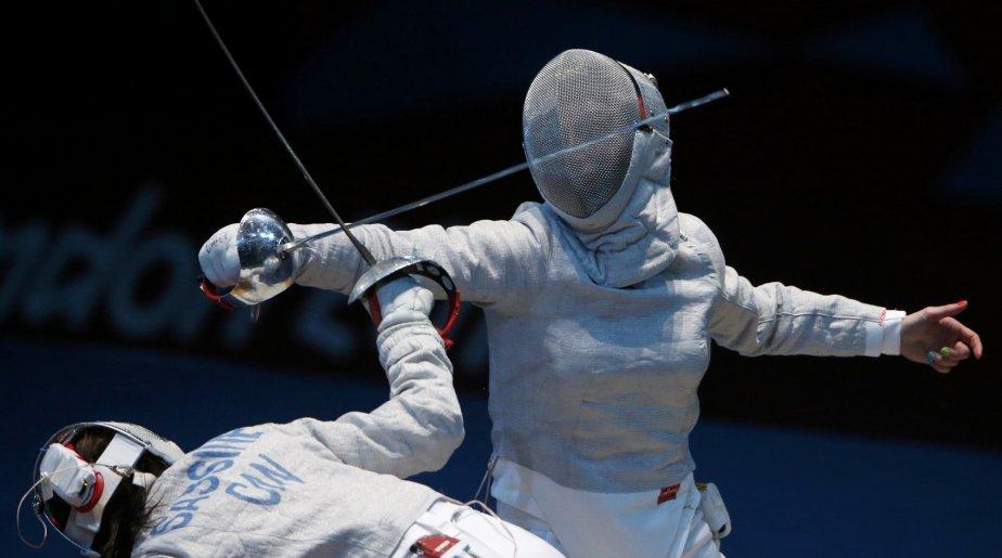 La Québécoise Sandra Sassine a perdu son combat contre la Polonaise Aleksandra Socha. | 1 août 2012