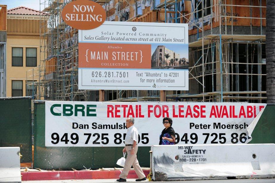Les dépenses de construction aux États-Unis ont... (PHOTO FREDERIC J. BROWN, AFP)