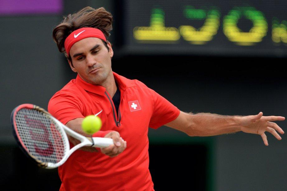 Roger Federer... (PHOTO MARTIN BERNETTI, AGENCE FRANCE-PRESSE)