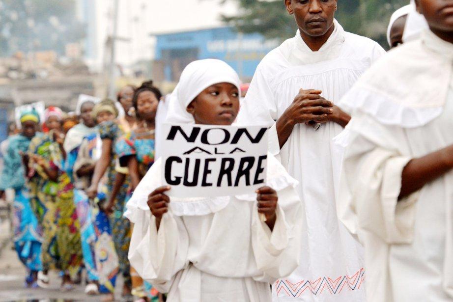 En début d'après-midi, ils étaient au moins 100000... (PHOTO JUNIOR D.KANNAH, AFP)