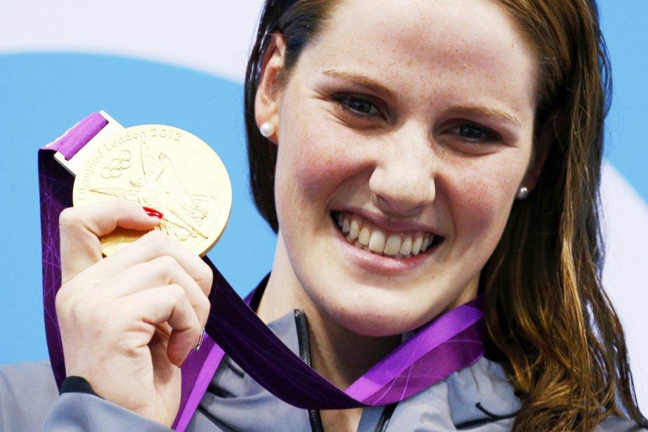 Missy Franklin a gagné une médaille de bronze... (PHOTO DAVID GRAY, REUTERS)