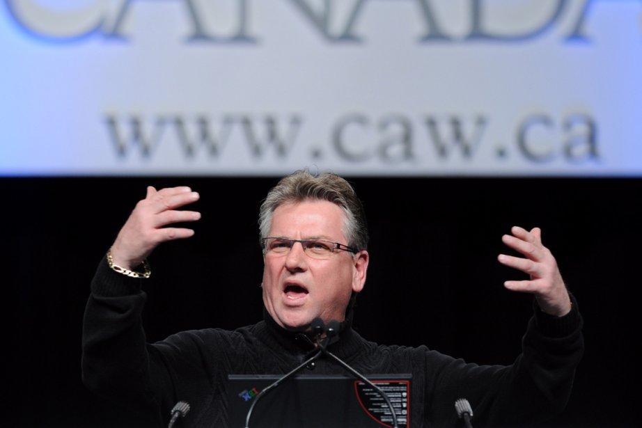 Ken Lewanza, président des TCA.... (PHOTO RICK EGLINTON, ARCHIVES PC)