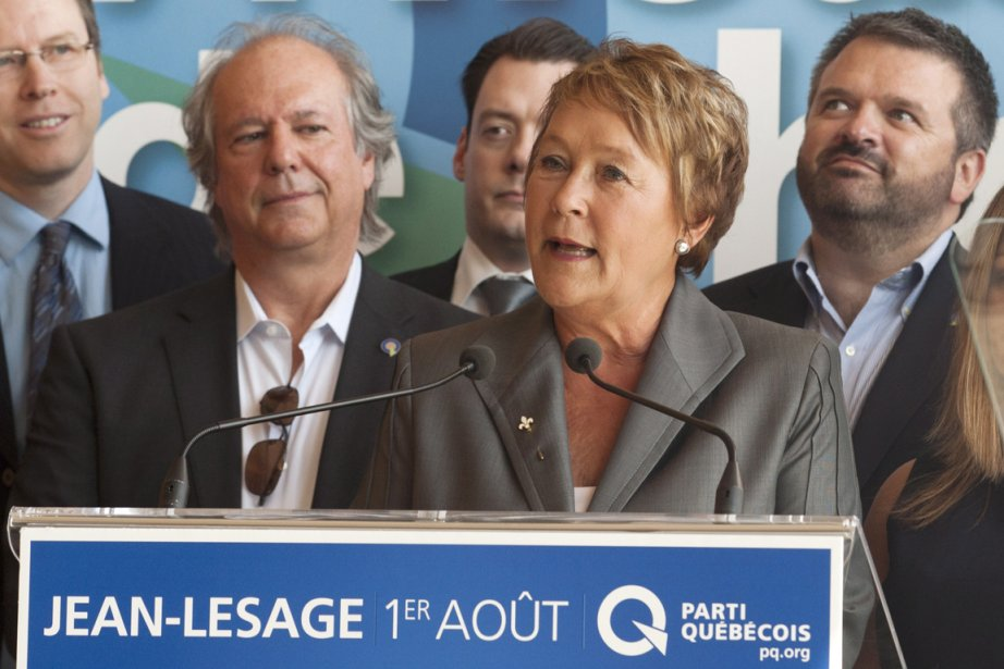 Pauline Marois... (Photo PC)