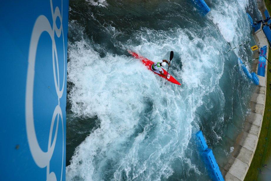 L?italien Daniele Molmenti a fêté ses 28 ans en arrachant la médaille d?or en kayak (K1). | 1 août 2012