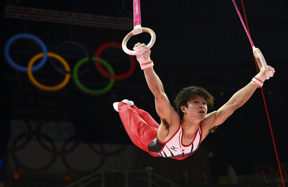 Le Japonais Kohei Uchimura a été sacré champion olympique du concours général de gymnastique. | 1 août 2012