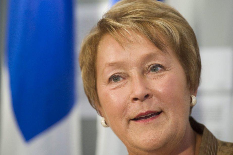 Pauline Marois s'est dite ouverte à la tenue... (Photo La Presse Canadienne)