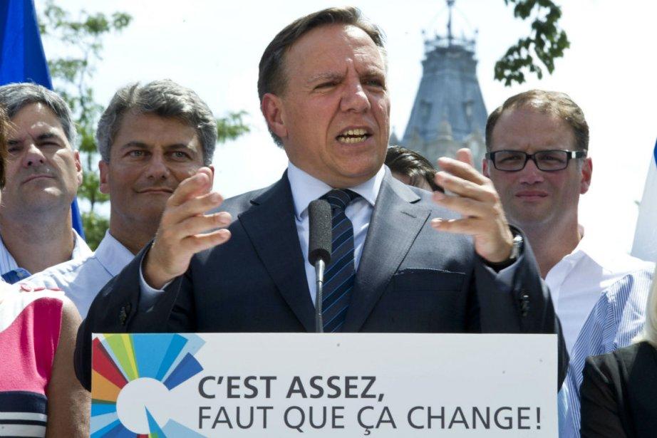 «Le Québec tourne en rond, le Québec piétine,... (PHOTO LA PRESSE CANADIENNE)