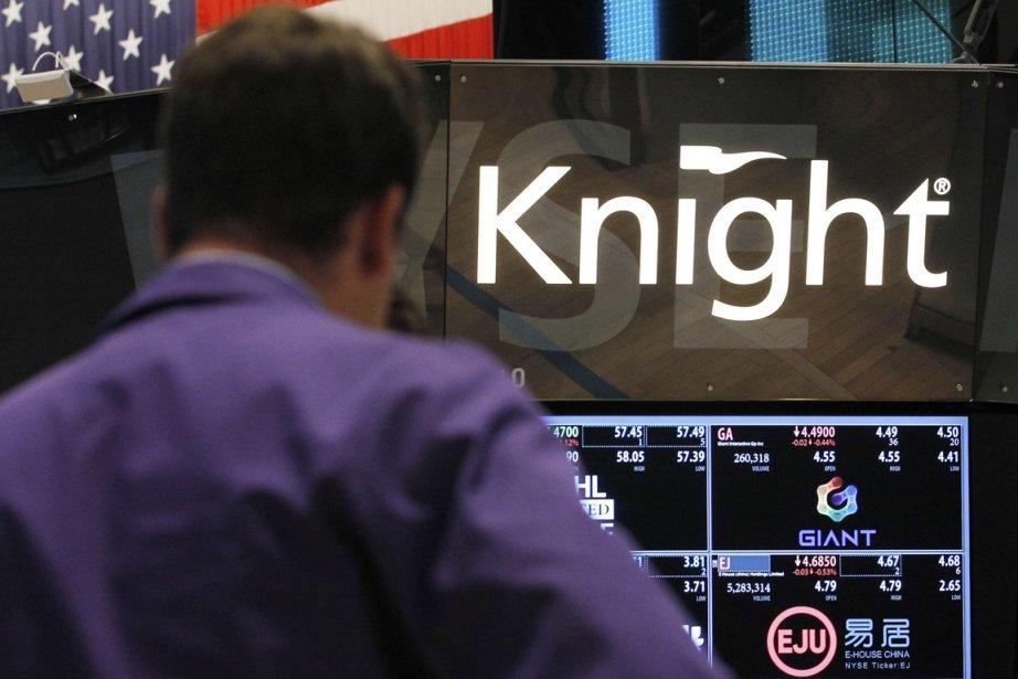 Knight Capital... (PHOTO BRENDAN McDERMID, REUTERS)