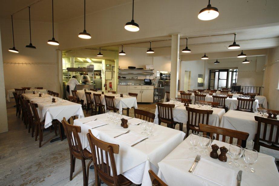 La salle à manger aux murs blancs nus,... (Photo fournie par le St. John)