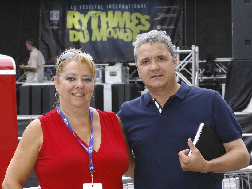 Ariane Blackburn et Benoît Laroche ont travaillé ensemble... (Michel Tremblay)