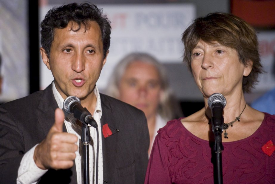 Amir Khadir et Françoise David.... (Photo PC)
