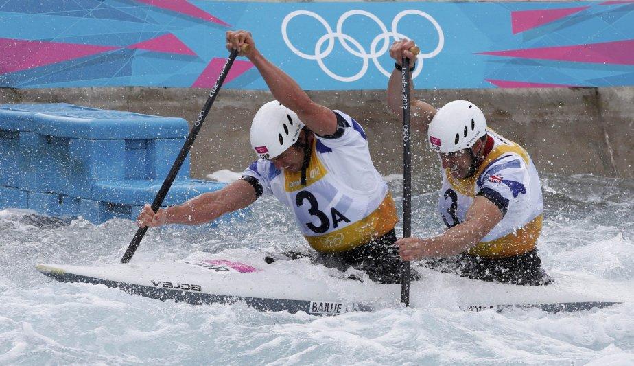 Les Britanniques Tim Baillie et Etienne Stott ont remporté l'épreuve de C2. | 2 août 2012