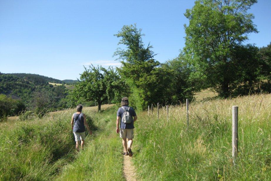 Sentiers de marche en Auvergne... (Photo d'archives La Presse)