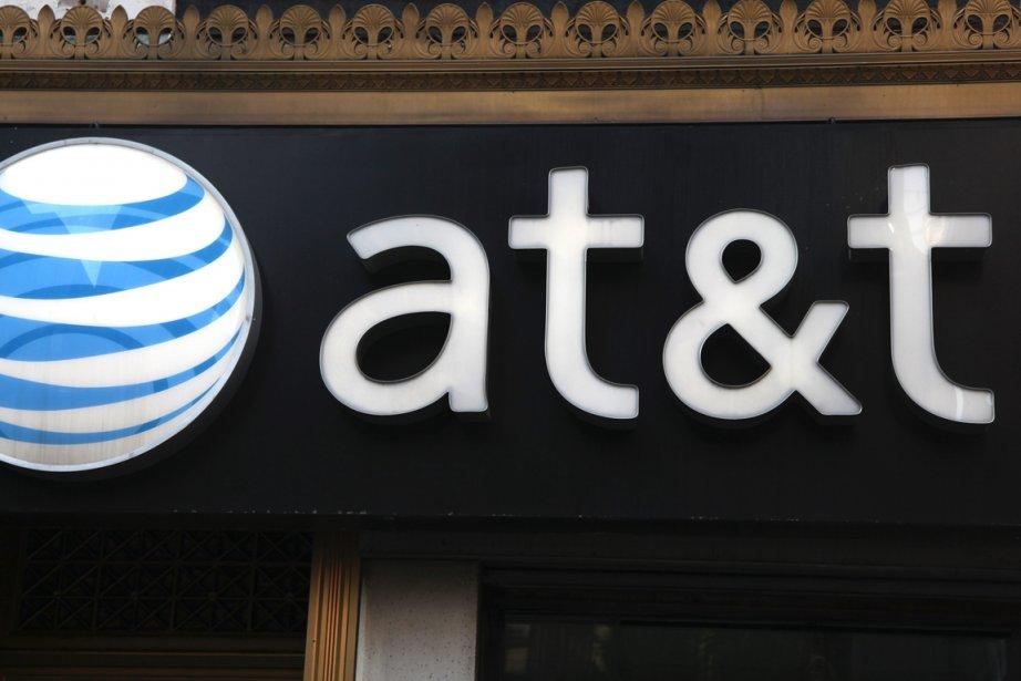 L'opérateur télécom américain AT&T a augmenté ses bénéfices plus... (PHOTO AP)