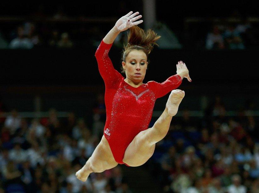 L'Italienne Vanessa Ferrari au concours général de gymnastique. | 2 août 2012