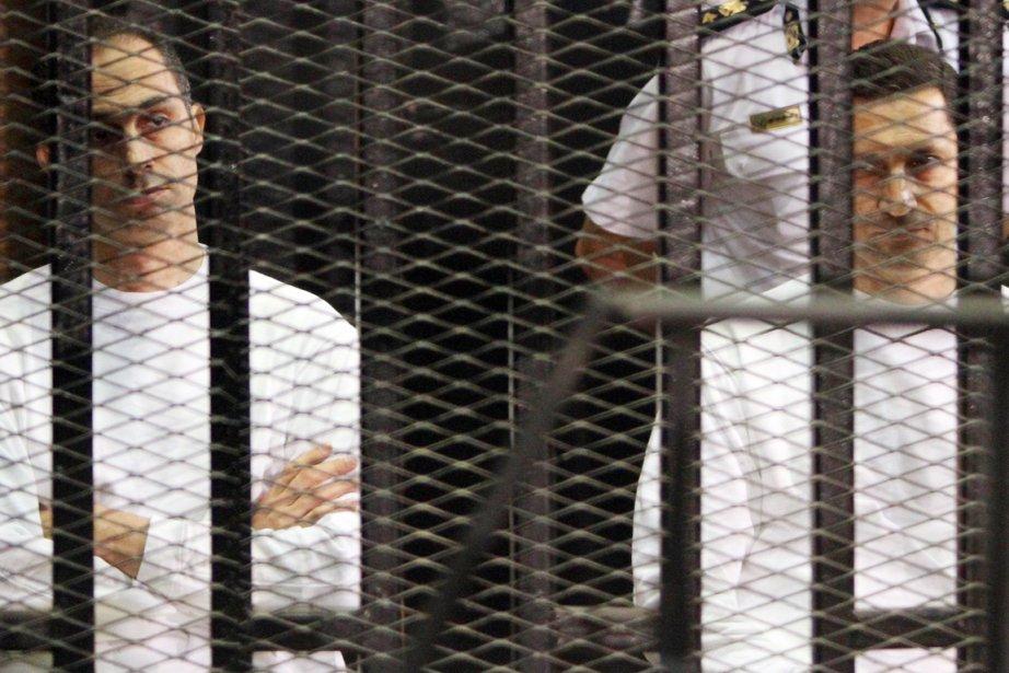 Le juge chargé de l'enquête accuse Alaa (à... (PHOTO ARCHIVES REUTERS)