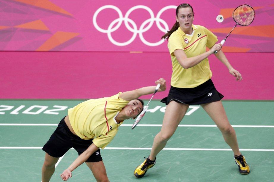 Les Canadiennes Michele Li et Alex Bruce se... (Photo: Reuters)