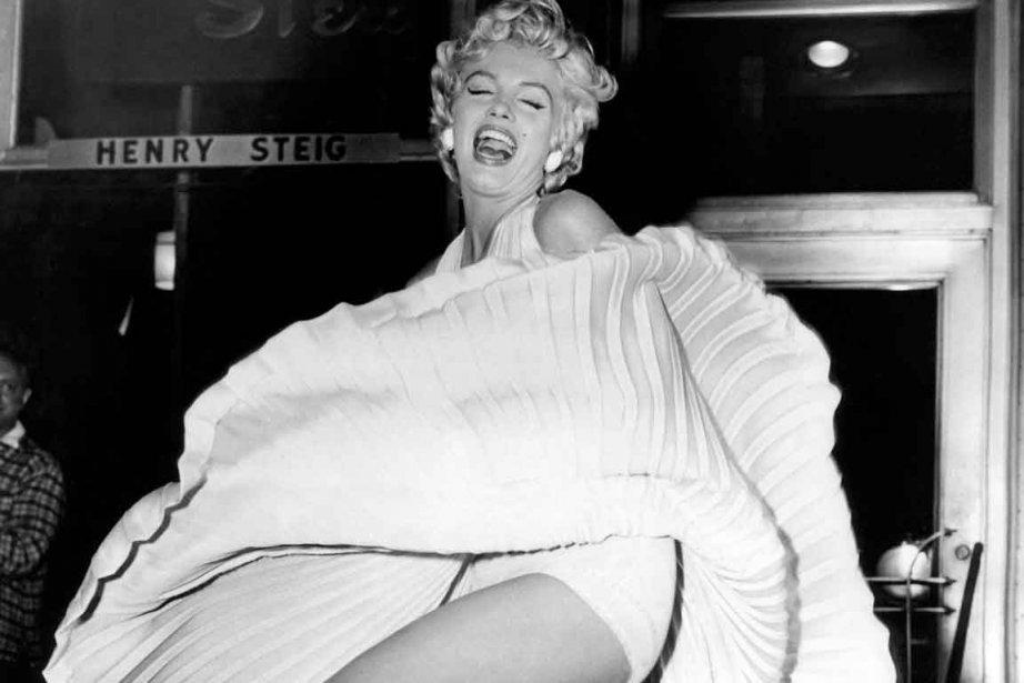 Marilyn Monroe... (Photo archives Le Soleil)
