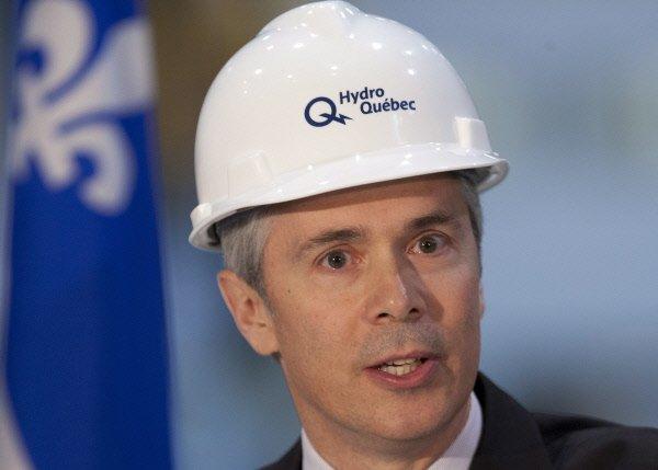 Le pdg d'Hydro-Québec,Thierry Vandal...