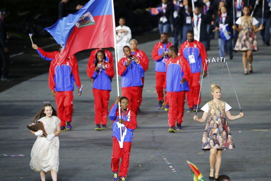 La délégation d'Haïti, encore secouée par le séisme... (PHOTO MIKE BLAKE, REUTERS)