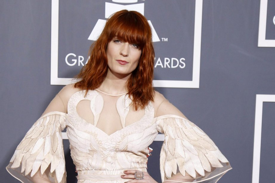 Florence Welch du band Florence + The Machine.... (Photo: Reuters)