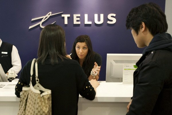 Le tableau s'annonce plus positif que prévu pour Telus [[|ticker  sym='T.T'|]]...