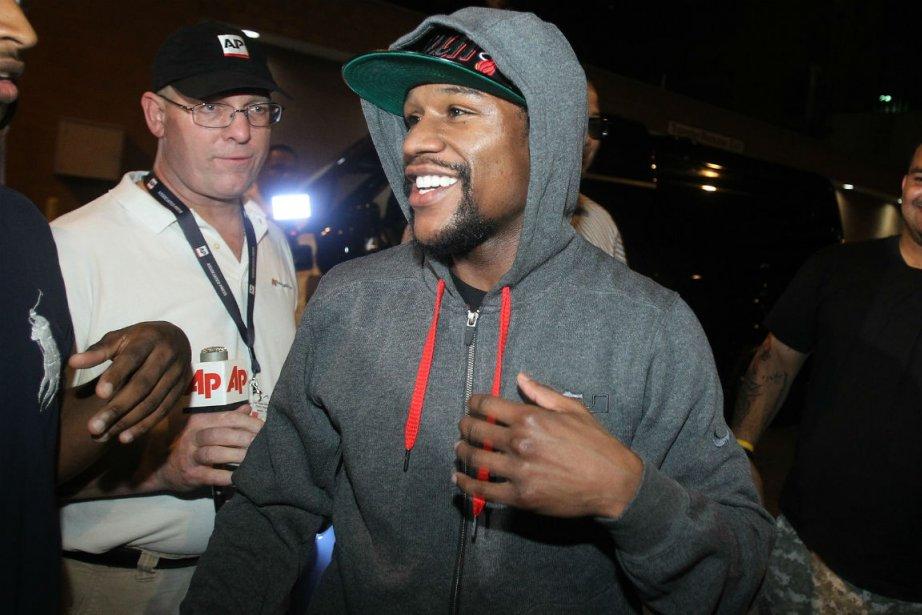 Le boxeur Floyd Mayweather fils a quitté la... (Photo: AP)