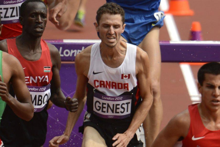 Alex Genest a réalisé le 13e meilleur temps... (Photo: Bernard Brault, La Presse)