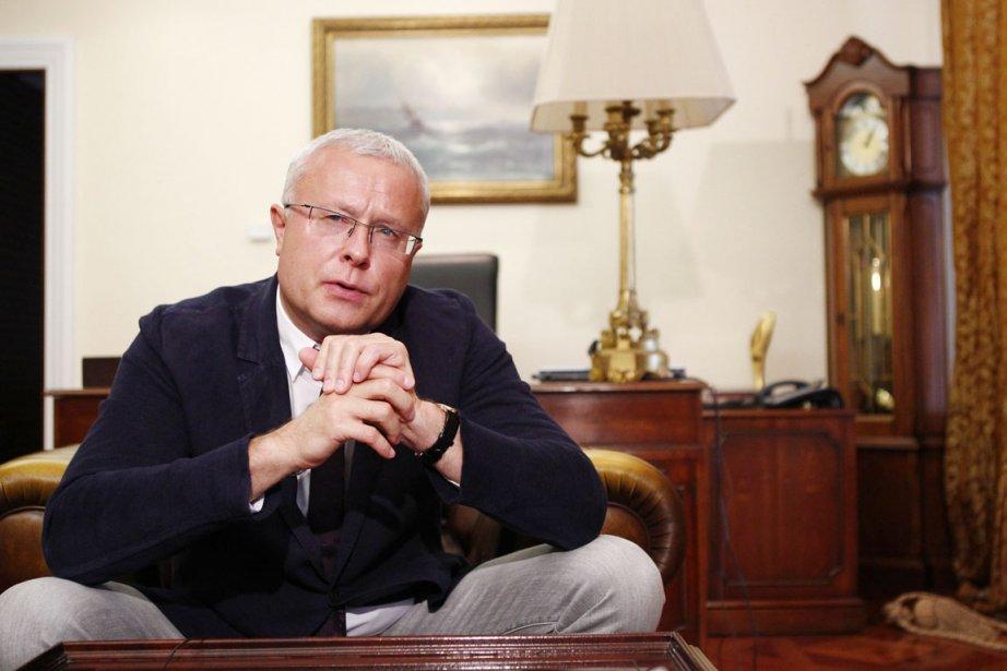 L'oligarque Alexandre Lebedev a annoncé qu'il quittait le... (PHOTO MIKHAIL VOSKRESENSKY, REUTERS)