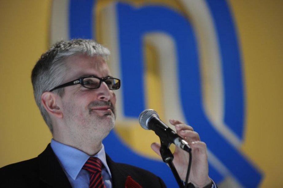 Jean-Martin Aussant, le chef d'Option nationale, n'a pas... (Photo : Sylvain Mayer, archives)