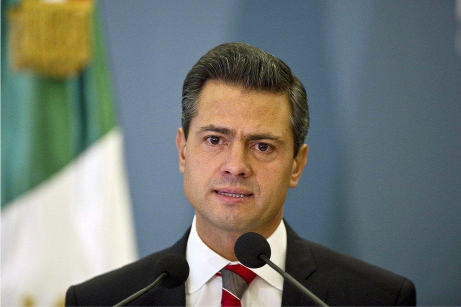 Enrique Peña Nieto avait été gouverneur de l'État... (PHOTO RONALDO SCHEMIDT, AFP)