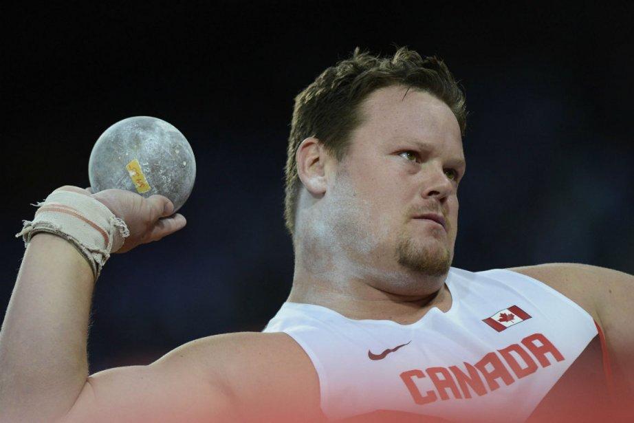 Le Canadien Dylan Armstrong: «Finir quatrième et cinquième... (Photo Adrian Dennis, Agence France-Presse)