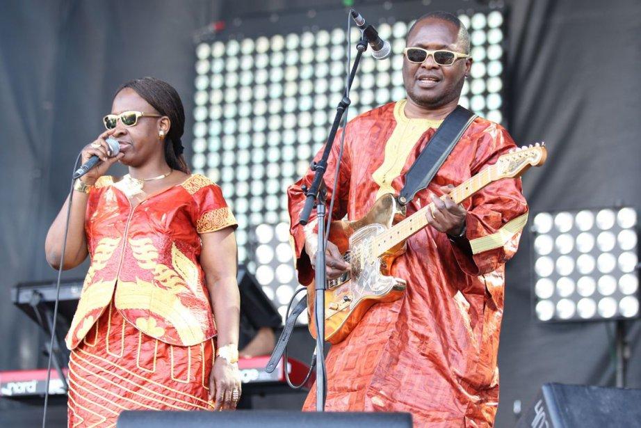 Le duo Amadou et Mariam.... (Photo fournie par le festival.)