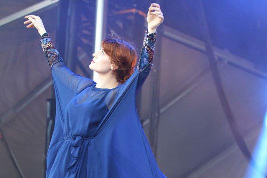 Florence Welch.... (Photo fournie par le festival.)
