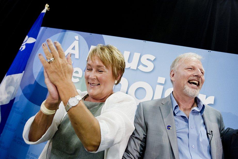 Pauline Marois et Jean-François Lisée, candidat confirmé pour... (Photo: Marco Campanozzi, La Presse)