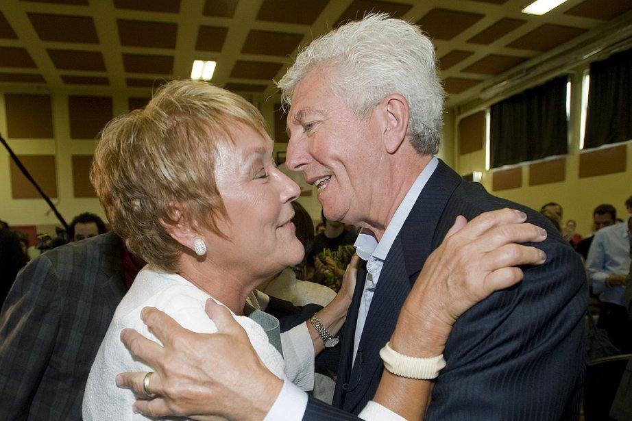 Pauline Marois et Gilles Duceppe, photographiés le 4... (Photo: PC)