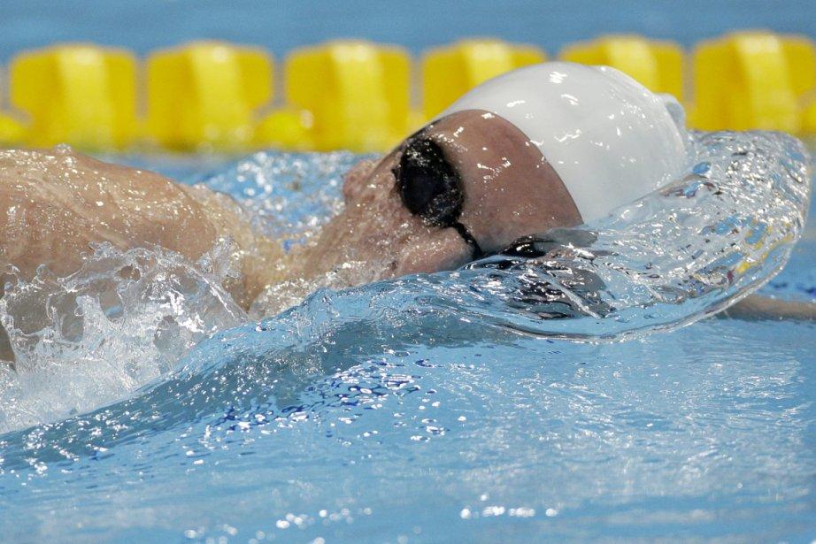 Ryan Cochrane avait gagné la médaille de bronze... (Photo : Michael Sohn, AP)