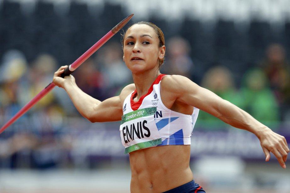 Jessica Ennis a réalisé un sans-faute devant son... (Photo : Phil Noble, Reuters)