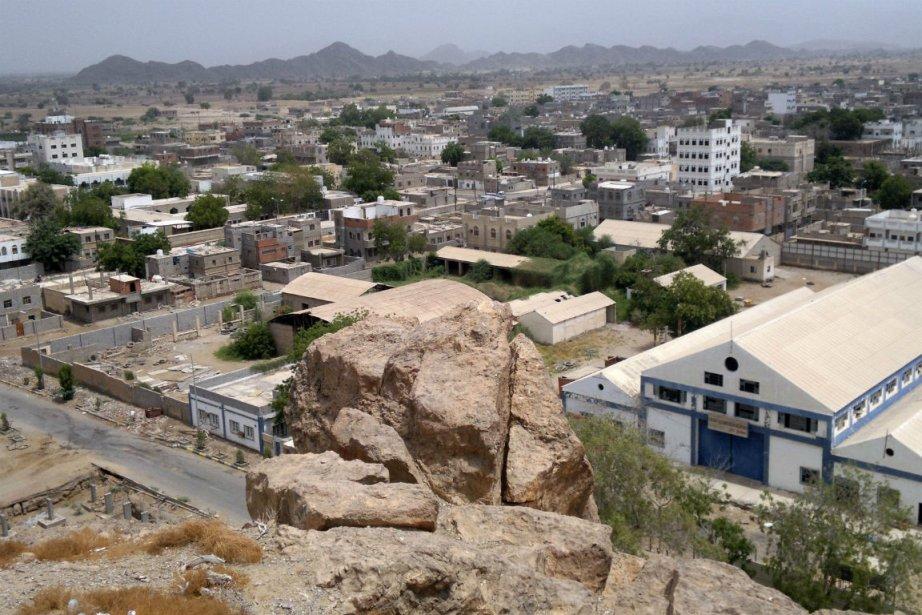 La ville de Jaar, dans le sud du... (PHOTO ARCHIVES AFP)