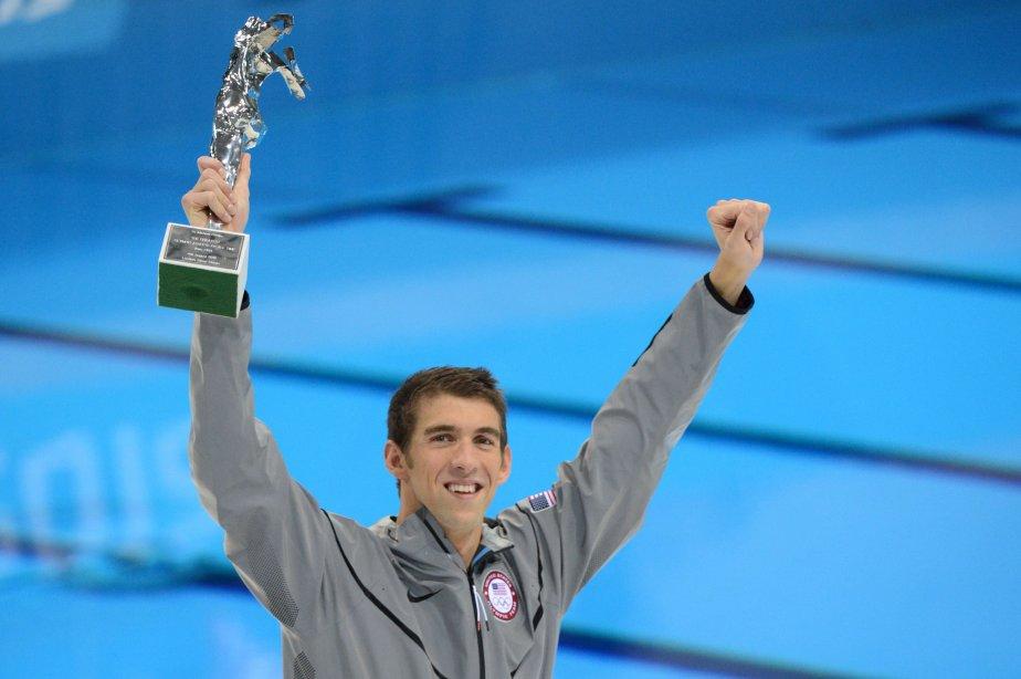Michael Phelps a remporté sa 22e et dernière médaille olympique. | 4 août 2012