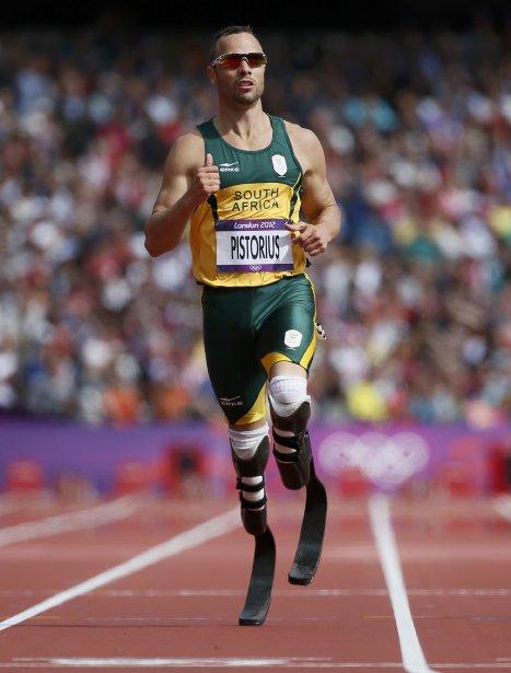 Le Sud-Africain Oscar Pistorius est devenu le premier athlète amputé à compétitionner aux Jeux olympiques. | 4 août 2012