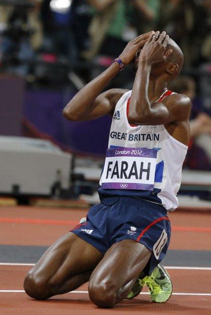Le Britannique Mo Farah a remporté le 10 000 m des Jeux olympiques de Londres. | 4 août 2012