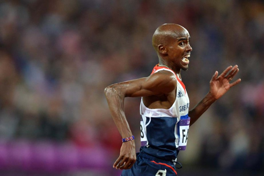 Champion du monde du 5000 m, Farah a... (Photo :  Johannes Eisele, AFP)